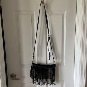 Sondra Roberts fringe crossbody bag